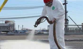 More Than Sunscreen: SPF Is Sprayed Polyurethane Foam